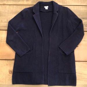 J.Crew Sweater Blazer XS